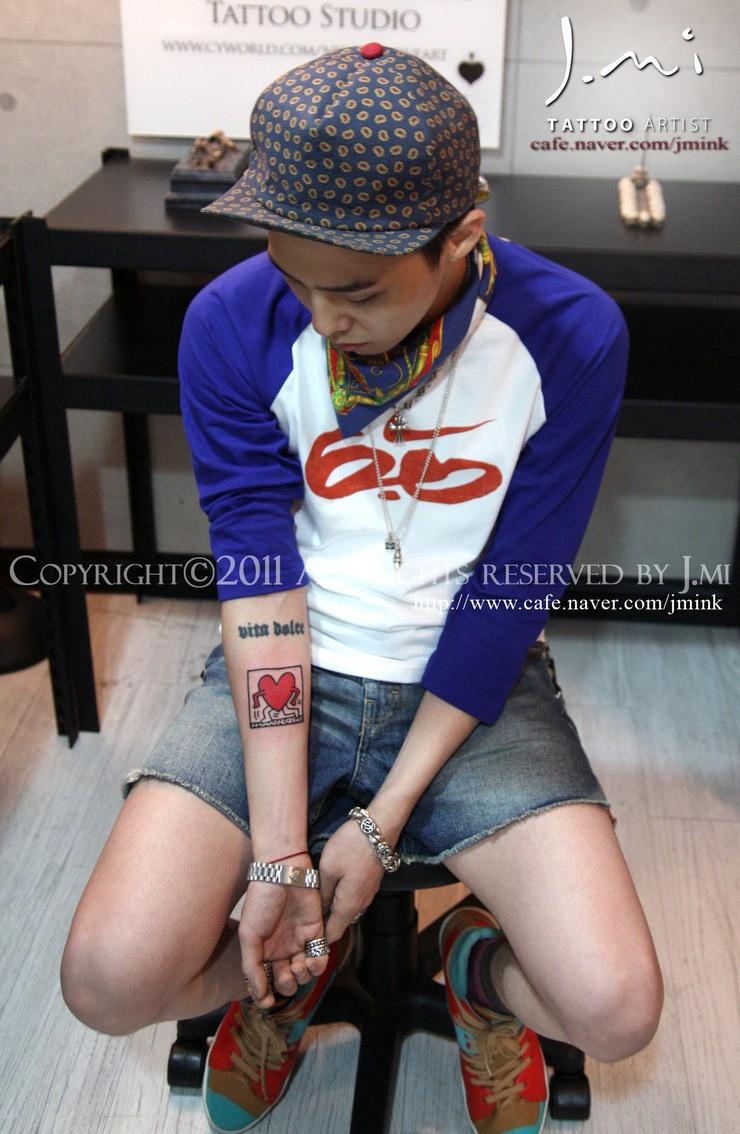 G Dragon 2013 Tattoos G-Dragon's New Tatto...