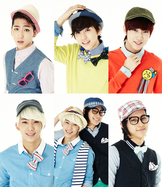 B1A4 members become romantic spring gentlemen for 'Hats On'